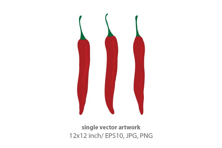 vegetable- single vector artwork example image 1