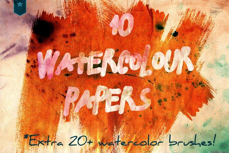 watercolour aquarel papers
