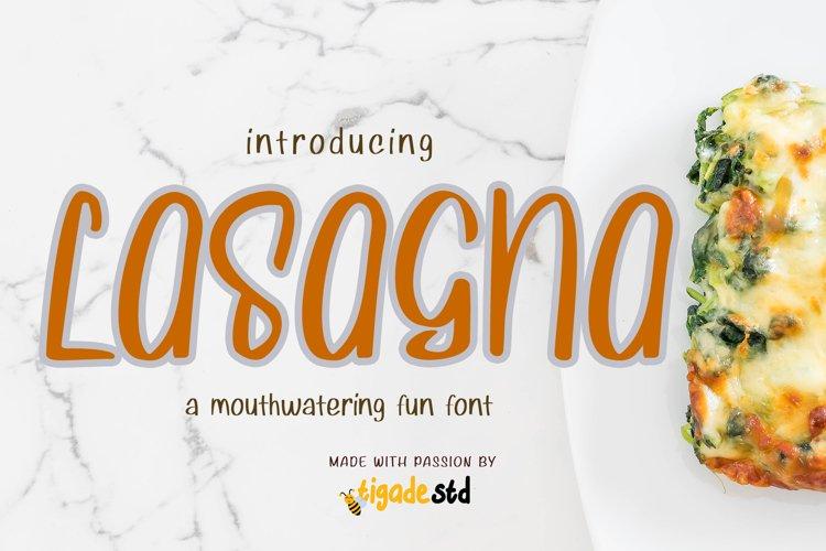 Lasagna example image 1