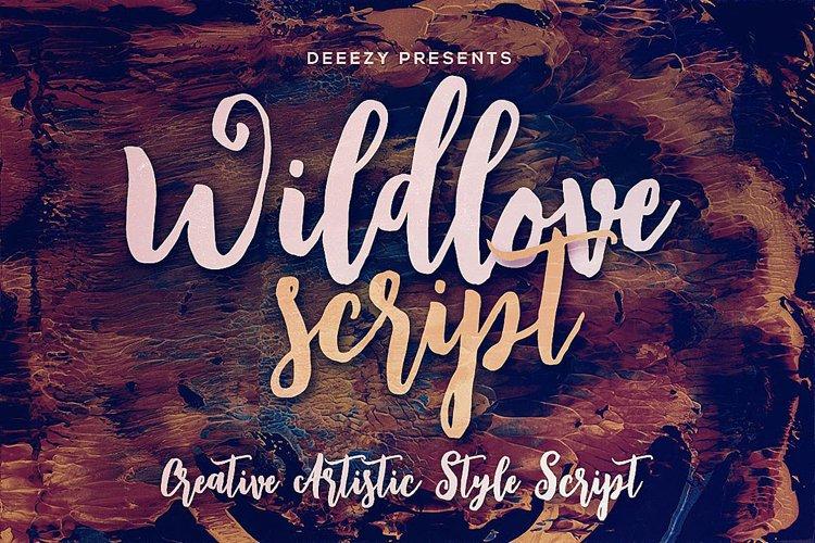Wildlove Script Font example image 1