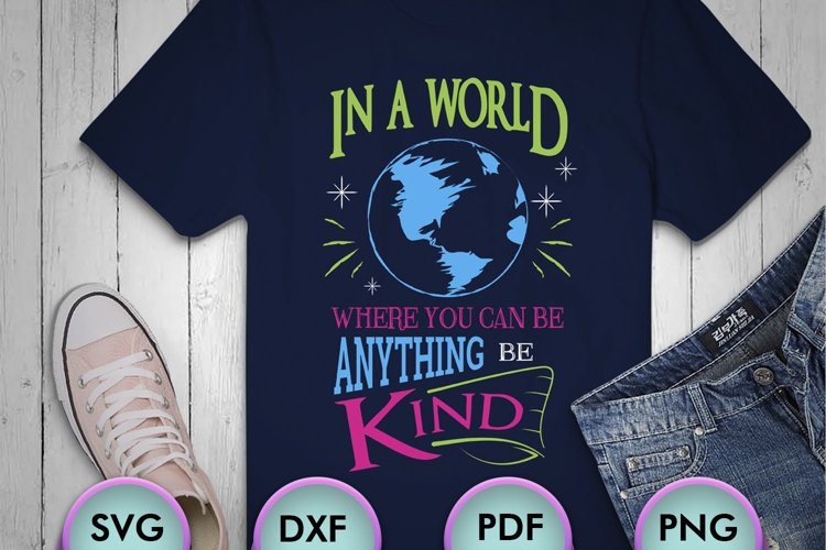 In A World Where You Can Be..., SVG Design for Crafters example image 1