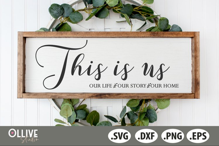 This Is Us SVG, Family SVG example image 1