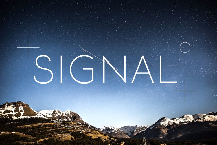 Signal example image 1