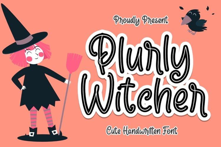 Plurly Witcher example image 1