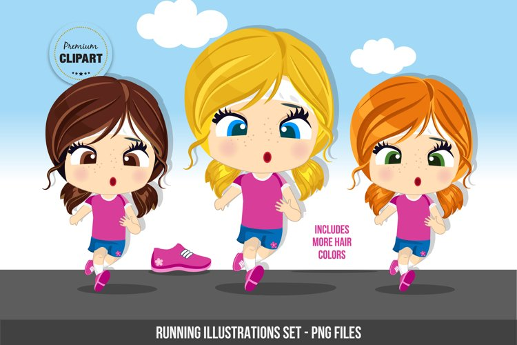 Fitness clipart, Sport illustrations example image 1