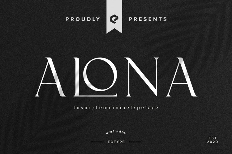 Alona Font example image 1