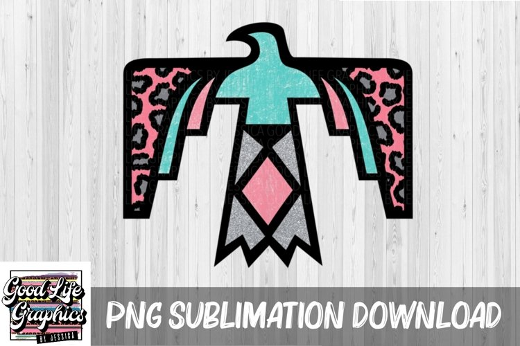 Sublimation Designs for t shirts-Tbird-PNG example image 1