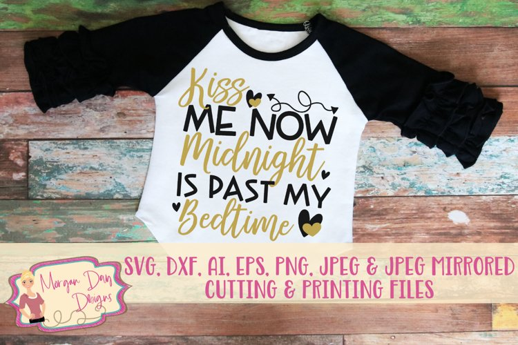 Kiss Me Now SVG, DXF, AI, EPS, PNG, JPEG