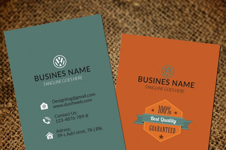 Coporate Business Card example image 1