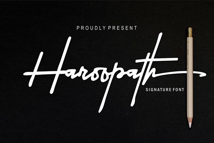 Haroopath example image 1