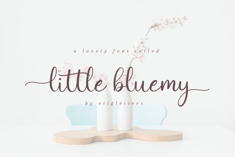 Little Bluemy example image 1