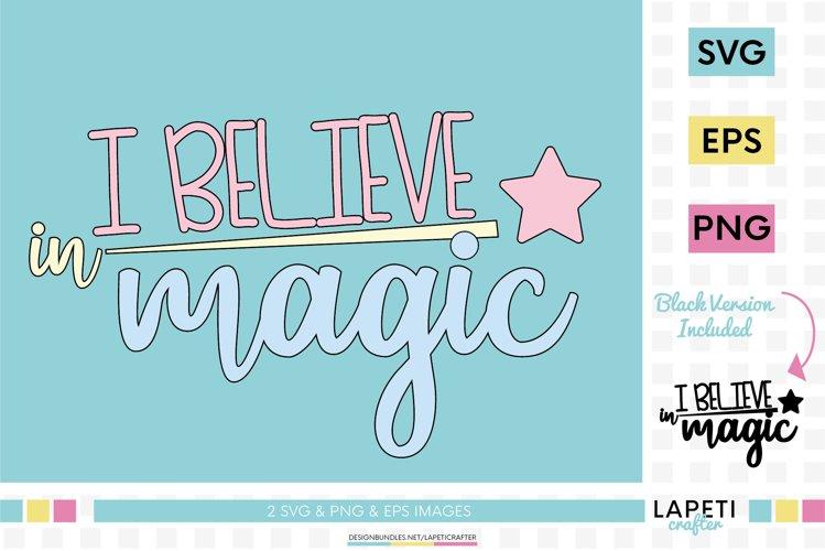 I Believe In Magic Svg Believe In Unicorns Magic Svg 806842 Cut Files Design Bundles