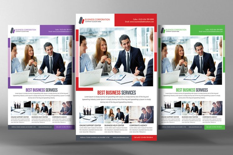 Modern Corporate Business Flyer example image 1