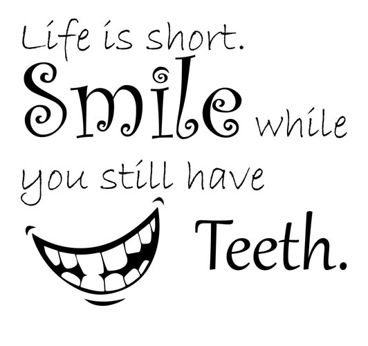Svg quotes / life is short scg cutting files Eps, png and Jpg / funny quote / teeth silhouette / night quote / smile silhouette / quote
