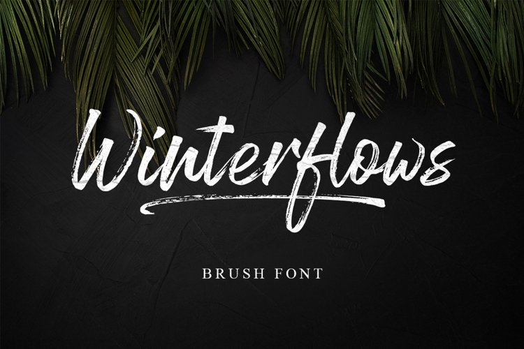 Winterflows Brush example image 1