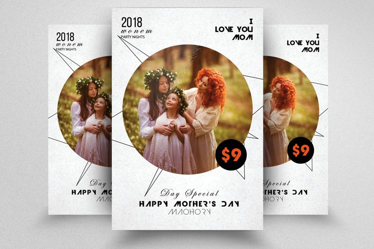 Happy Mother's Day Flyer Template example image 1