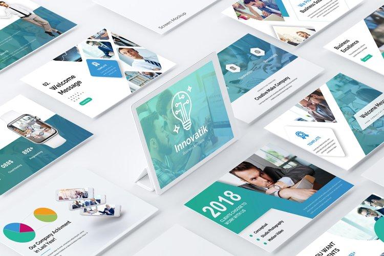 Innovatik Business Premium Google Slide Template