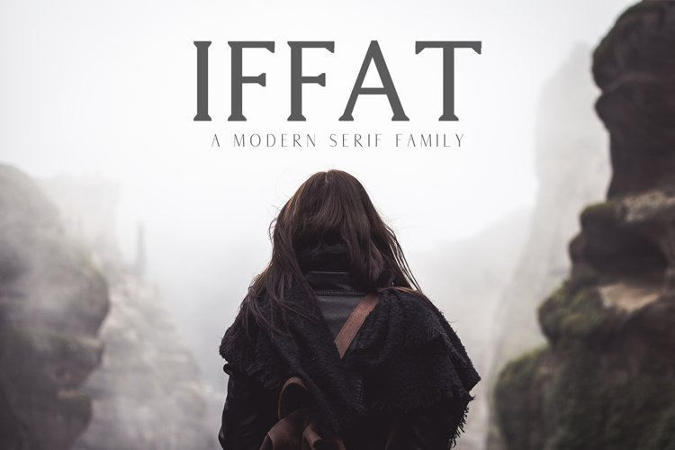 Iffat A Modern Serif Family example image 1