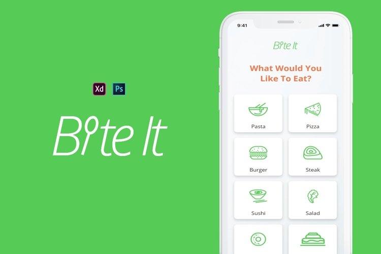 BiteIt Mobile UI Kit