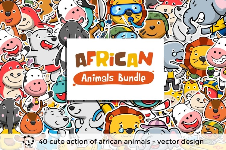 African Animals Bundle