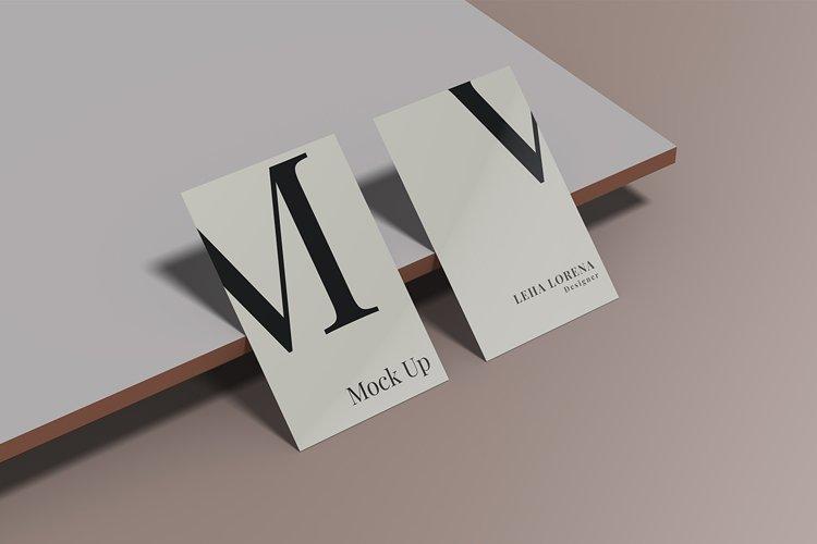 Elegant Business Card Mockup PSD Vol 3
