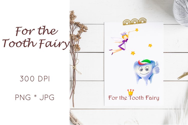 Tooth fairy letter sublimation