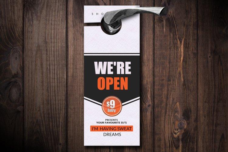 Business Door Hangers example image 1