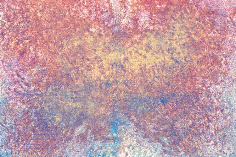 abstract watercolor texture with pink, blue, yellow spray example image 1