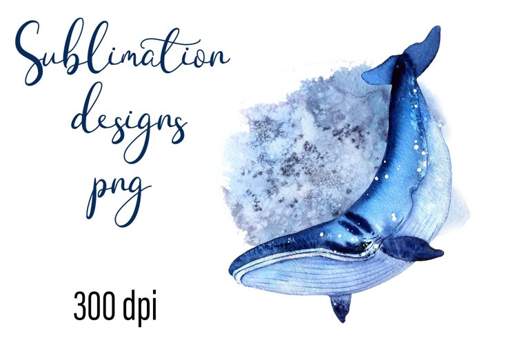 Residents of deep water Sea Style Sublimation Png example image 1