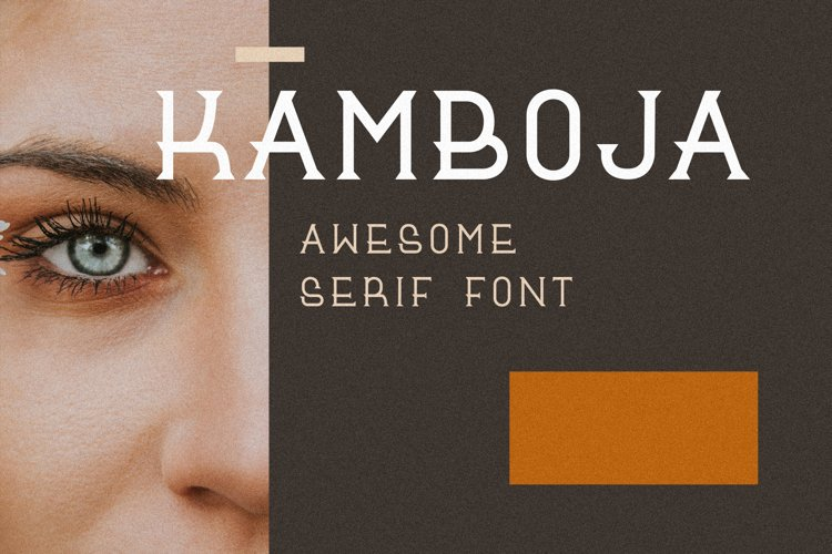 Kamboja Font example image 1