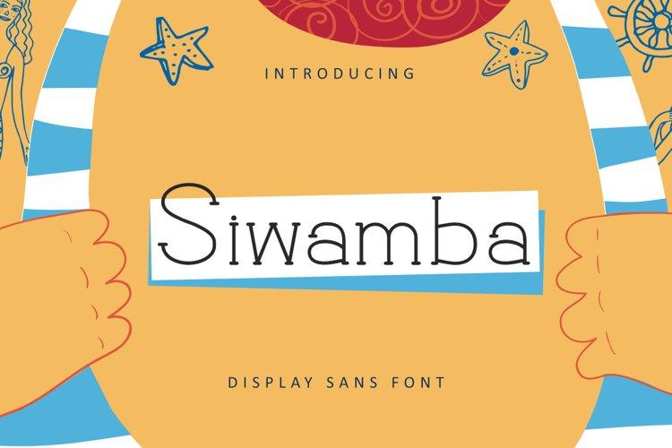 Siwamba example image 1
