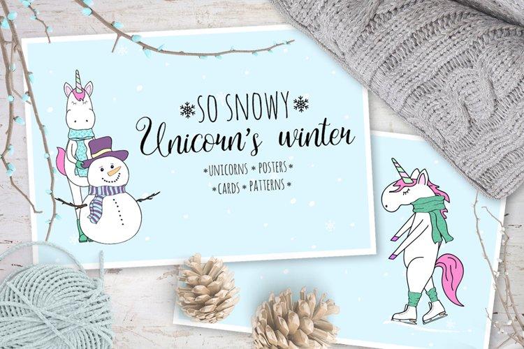 Unicorns winter