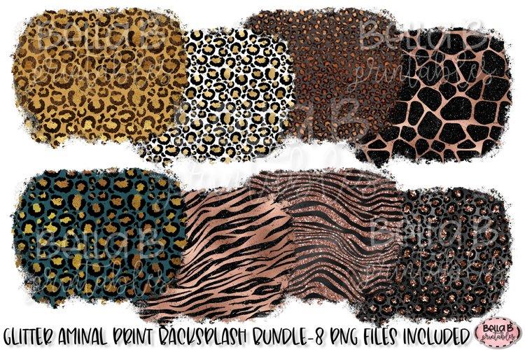Animal Print Sublimation Background Bundle, Leopard Print