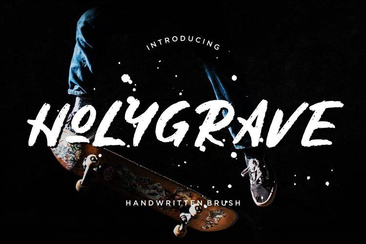 Holygrave Handwritten Brush example image 1