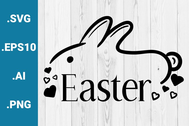 Easter Greetings SVG quote example image 1