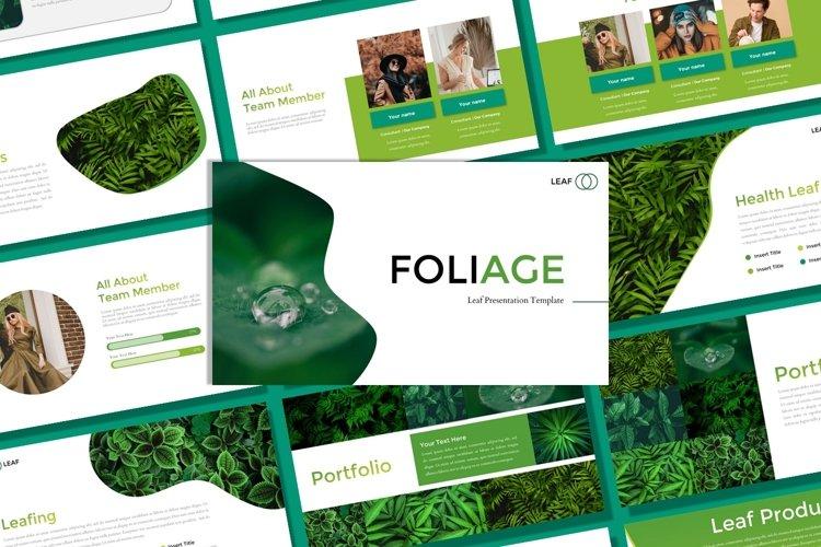 Presentation Templates - Foliage example image 1