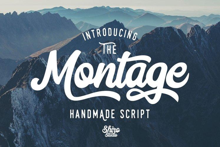 Web Font Montage Script example image 1
