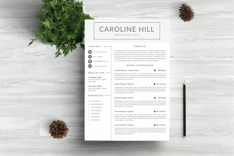 Creative Resume Template example image 1