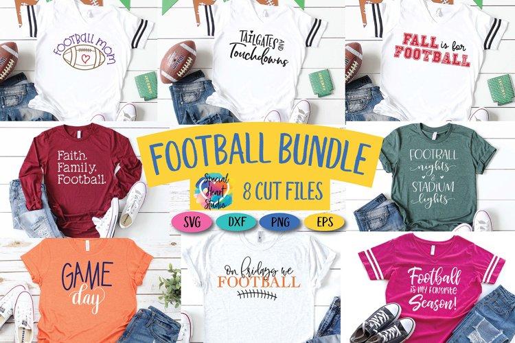 Football Bundle - An football fan SVG Cut File Bundle