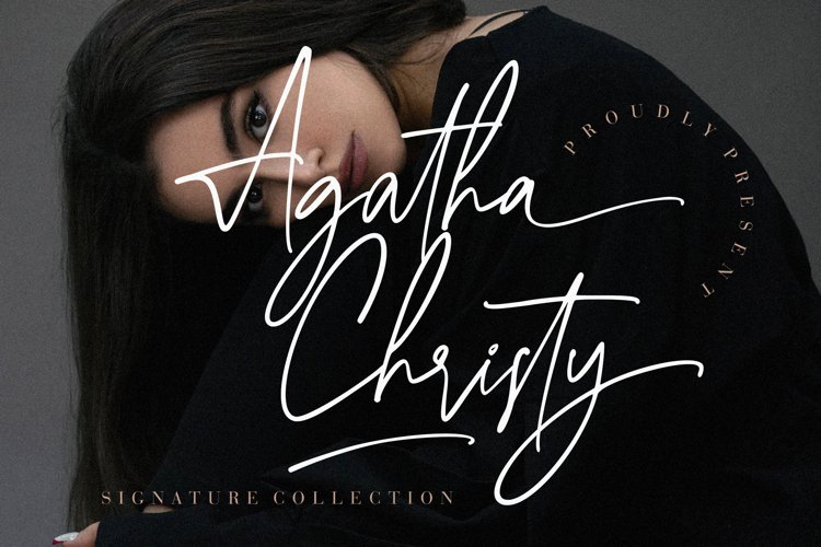 Agatha Christy Signature Collection example image 1