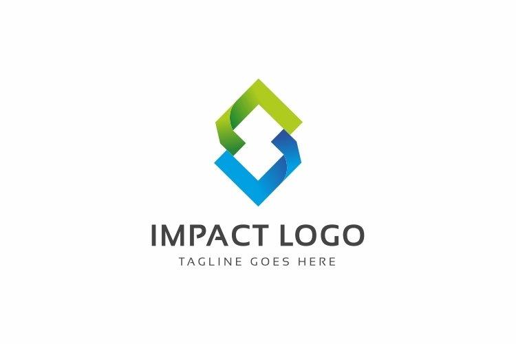 Impact Abstract Arrows Logo example image 1