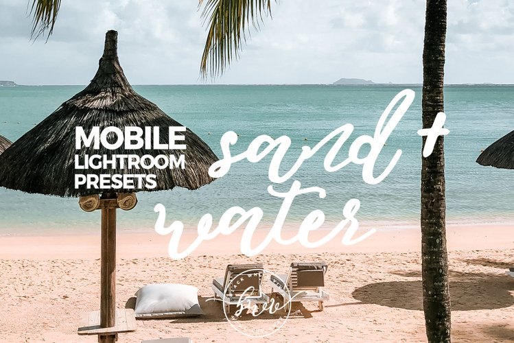 Sand and Water MOBILE & DESKTOP Lightroom Presets example image 1