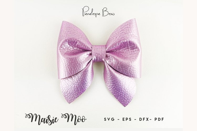 Pinch Bow Template SVG, Sailor Bow PDF, Hair Bow Template,
