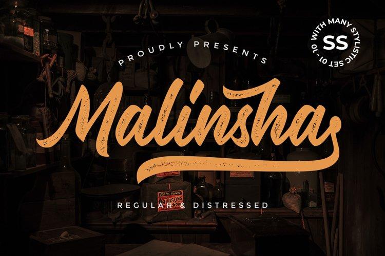 Malinsha Script example image 1