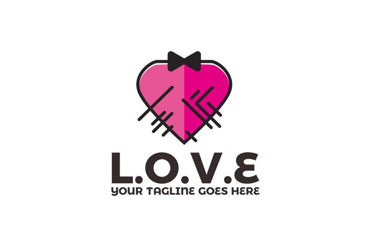 Love Valentine Logo example image 1