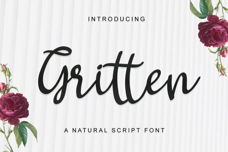 Gritten - Script example image 1