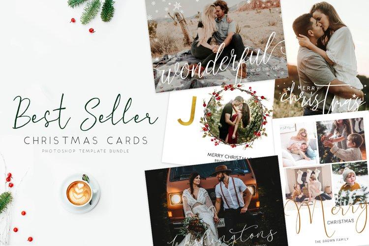 Best Seller Christmas Cards Bundle example image 1