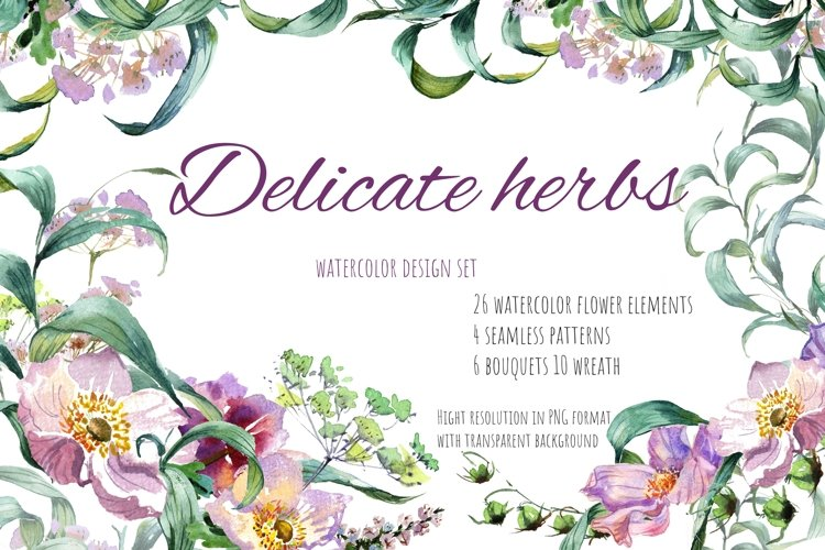 Delicate herbs