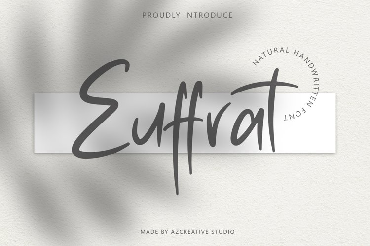 Euffrat - Simply Natural Handwritten example image 1