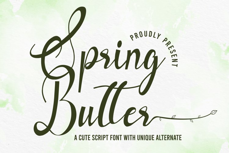 Spring Butter example image 1